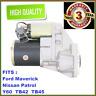 Starter Motor fit Nissan GQ Patrol Y60 engine TB42E 4.2L 91-97 NEW
