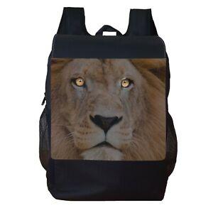 Lion Backpack School Bag Travel Personalised Backpack