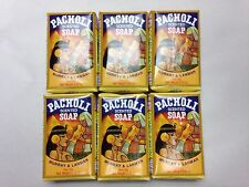 M&L PATCHOULI BAR SOAP 3.35 OZ. SET OF 6 WITH FREE SHIPPING IN THE U.S.!