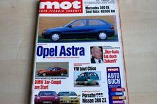 2) MOT 22/1991 - Wirklich gut? Seat Ibiza GLX 1 - Audi 100 C4 2.8 E Automatik mi