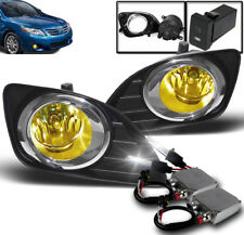 2010-2011 TOYOTA CAMRY YELLOW FRONT LOWER BUMPER FOG LIGHT LAMP+50W 6K XENON HID