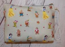 Fair Trade Snow White Wash Bag Make Up case Hand Made From Marrakesh Morocco