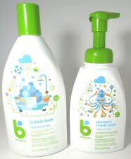 Babyganics Shampoo/ Body Wash, 16oz. & Bubble Bath, Fragrance Free 20oz. Set
