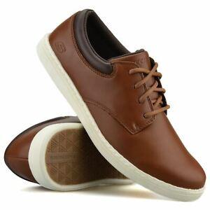 Mens Skechers Memory Foam Casual Smart Lace Up Walking Work Boat Deck Shoes Size