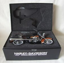 NIB Harley-Davidson 1/12 Scale Road King Die Cast Model RARE 105th Anniversary