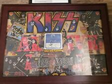 kiss 1977 backstage pass,signed by promoter Barry  Fay R.I.P.