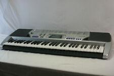 "Casio Electric Piano CTK-496 Keyboard MIDI  1/4"" Mic Input 61 full size keys"