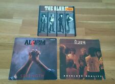 """The Alarm Job Lot 3x UK 7"""" Where Were You Hiding Strength Absolute Reality BBC"""