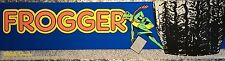 "Frogger Arcade Marquee 26"" x 8"""
