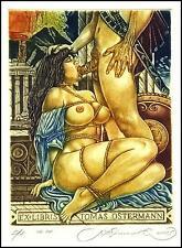 Kirnitskiy Sergey 2005 Exlibris C4 Erotic Erotik Nude Nudo Woman Sex 113