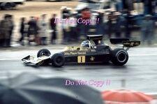 RONNIE PETERSON LOTUS JPS 76 Gran Premio di Spagna 1974 fotografia 5
