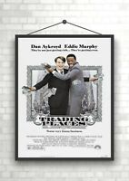 Trading Places Vintage Classic Movie Poster Art Print A0 A1 A2 A3 A4 Maxi