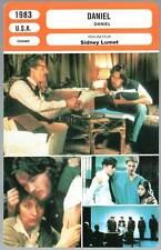 DANIEL - Hutton,Patinkin,Crouse,Sidney Lumet (Fiche Cinéma) 1983