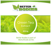 BETTER BODIES HIGH STRENGTH GREEN TEA EXTRACT WEIGHT LOSS PILLS 2 MONTH SUPPLY
