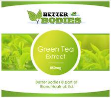 BETTER BODIES HIGH STRENGTH GREEN TEA EXTRACT WEIGHT LOSS PILLS 2 MONTH SUPPLY