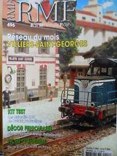 RMF - Rail Miniature Flash n°496 - Réseau Villiers - Saint Georges [TR.31]