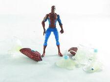 "Marvel universo HOMBRE ARAÑA plástico transparente, 4"" figura Ultimate Gift Set Spider-Man"