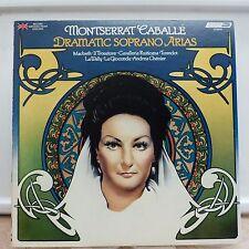 1977 Montserrat Caballe Dramatic Sporano Arias London OS26497 Mint Stereo LP