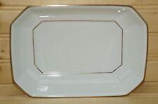 "Villeroy & Boch Heinrich -Facette Gold- Pickle or Relish Dish-8"" x 5 3/4"""