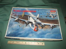 Vintage Airplane Academy Minicraft 1/72 scale Model kit B-24H Liberator Jet