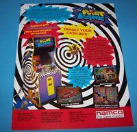 Point Blank Arcade FLYER Original 1994 NOS Video Game Promo Artwork Sheet Namco