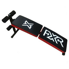 FXR SPORTS FOLDING ADJUSTIBLE AB SIT UP BENCH FITNESS GYM