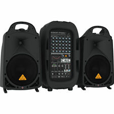 Behringer EUROPORT PPA2000BT - 2000W 8-Channel Portable PA System with Bluetooth