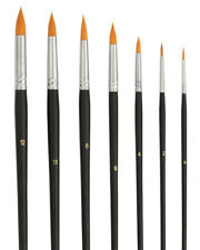 7 Toray Künstlerpinsel spitz - Rundpinsel für Aquarellfarben - Aquarellmalen