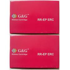 2 ERC38 Compatible Ribbon For Epson TM-U270 U220 U200D U200B U300 U325 U230 300A