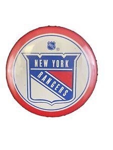 VINTAGE 1970's New York Rangers Old Logo Pinback