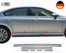 Türleisten für VW Passat B8 2014 Limo Variant  Edelstahl Chrom Seitenleiste 8tlg