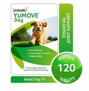 Lintbells YuMOVE Dog Joint Supplement Stiff and Older Dogs 40/60/120/240 Tablets