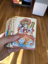 Cardcaptor Sakura Carddass Masters Card/Sticker Deck - Japan Bandai vintage Rare