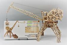 Vintage grue portuaire-woodtrick mécanique 3D en bois modèle