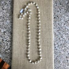 Silpada Freshwater Pearl Fresh Catch Necklace N1368 .925 Sterling Silver