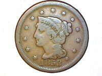 1853 Large Cent  Very Nice Coin 814