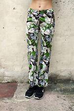 Conte di Firenze Lady Pantaloni Jeans Fiori Multi Bootcut Stretch IT42 UK10