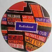 "Radiohead ""Hail To The Thief"" Promo Sticker Mint 2003"
