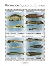 More details for mozambique 2021 mnh fish stamps deep sea fishes marine 4v m/s