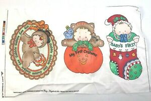 Daisy Kingdom Baby's First Appliques Christmas Thanksgiving Halloween Vintage 19