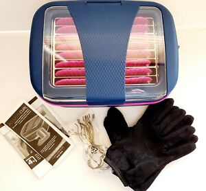 Infiniti Pro Adjustacurl Flat Flexible Hot Rollers by ConairCurlers With Gloves