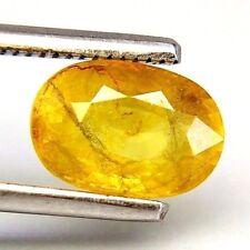 TOP HEAT ONLY SAPPHIRE : 2,47 Ct Natürlicher Gelber Saphir aus Thailand