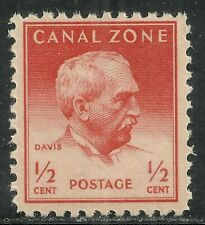 U.S. Possession Canal Zone stamp scott 136 - 1/2 cent issue of 1948 - mnh  #7