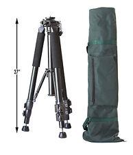 Tripod Legs Kit, Heavy Duty, Bag, Black Aluminum Finish, Geared Column ProAm USA