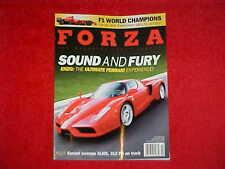 Forza # 83 Magazine F1 FEB  2008 Formula One, Ferrari Enzo Kimi Raikkonen Wins