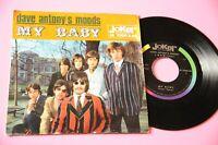 """Dave ANTONIUS Stimmungen 7 """" My Baby Ovp Italy 1967 Top Psych"""