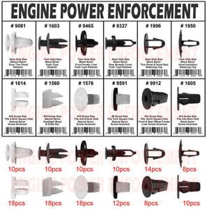 146PCS For TOYOTA Lexus Fender Door Hood Bumper Car Trim Clips Body Retainer Kit