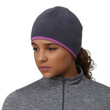 TrailHeads Womens Ponytail Hat - charcoal / purple