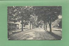 Looking Down MURRAY ST. In MT. MORRIS, NY On Vintage 1912 Postcard