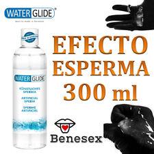 Lubricante Sexual - WATER GLID LUBRICANTE TEXTURA SEMEN 300ml ENV. DISCRETO  24h